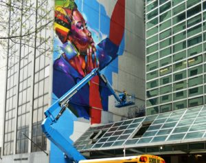 Uganda House In New York Gets Mural On Youth Employment