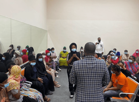 RESPONSE TO ALLEGATIONS MADE BY A GROUP OF UGANDAN DOMESTIC WORKERS CURRENTLY RESIDING AT THE SAKAN HOUSING FACILITY IN RIYADH, SAUDI ARABIA.